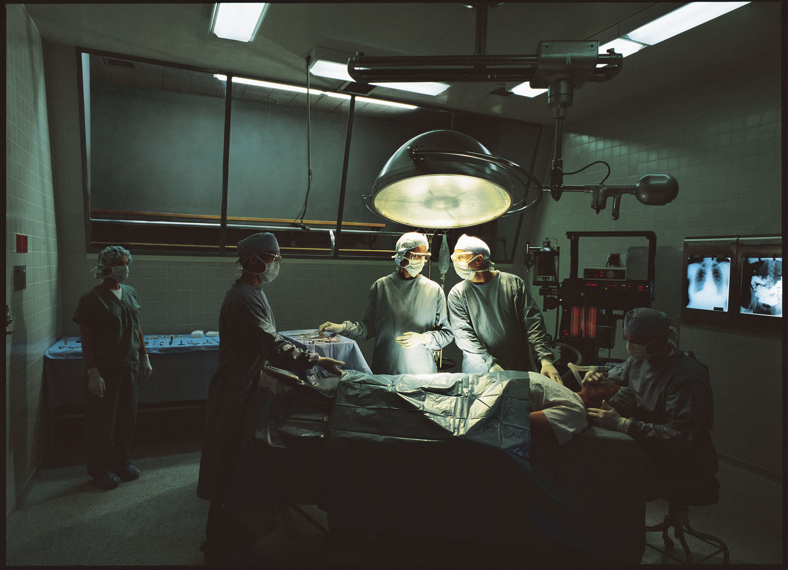 surgeons operating on patients documentary
